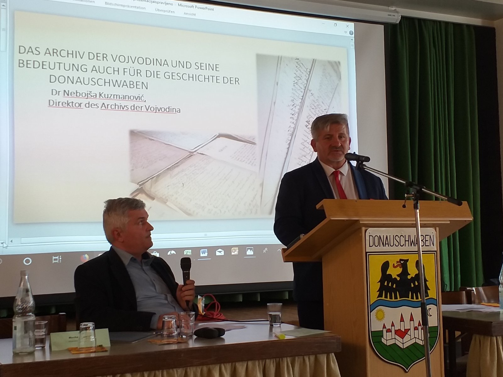 The Director of the Archives of Vojvodina Takes Part in a Conference Dedicated to Danube Swabians in Germany