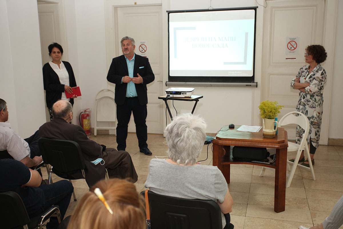 ''Zoom In On Novi Sad'' Project – A Lecture About Jews